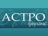 Логотип АстроФинанс, финансовая компания